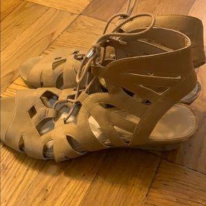 Franco Sarto Shoes - Franco Sarto L upstart sandals women's tan 7.5